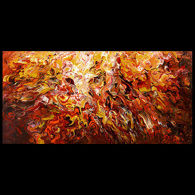 HUGE MODERN ABSTRACT PAINTING WALL ART MADEtoORDER CONTEMPORARY Home DECO CANVAS