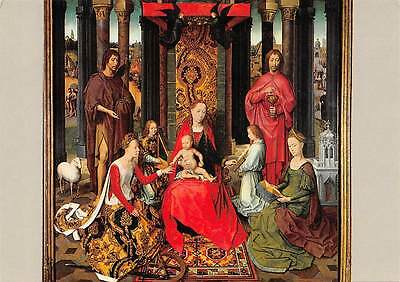 Hans Memling Triptych of St. John the Baptist and the Evangelist