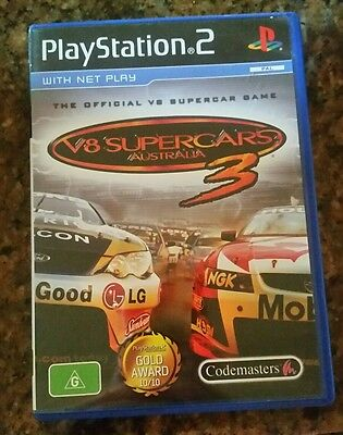 V8 Supercars 3 (Sony PlayStation 2, 2006)