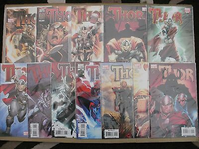 Thor - Issues 1,2,3,4,5,6,7,8,9,10,11,12 - Marvel 1St Prints - 2007-09 Vol.3
