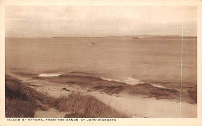 Island of Stroma, from the Sands at John o'Groats