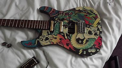 Electric guitar project