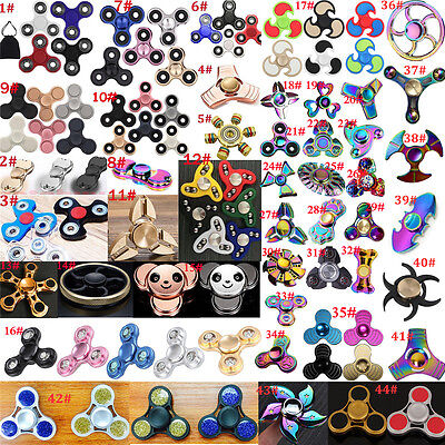 3D Fidget Hand Finger Spinner EDC Focus Stress Reliever Toys For Kids Adults OO