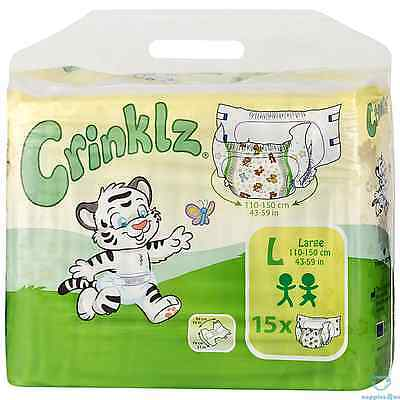 Crinklz Large - Pack of 15