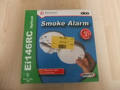 Aico Ei146RC Easi-fit Optical Smoke Alarm 230V