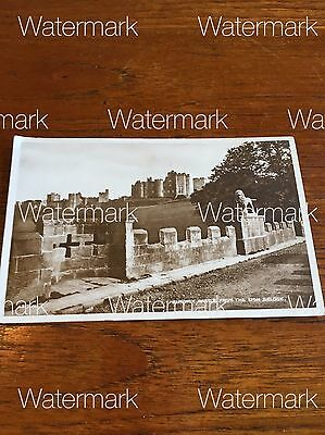 Early 1900's Alnwick Castle Northumberland Harry Potter Downton UNUSED Postcard