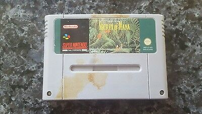 RARE Secret of mana snes game Super Nintendo