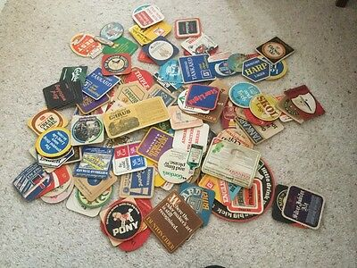 beer mats/coasters from the late 1960's early 1970's
