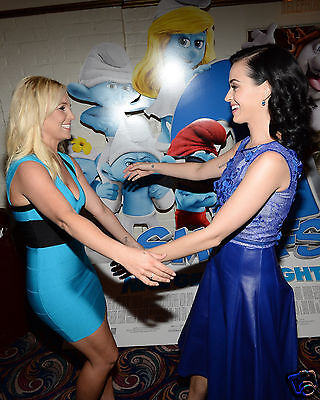 Britney Spears and Katy Perry 8x10 Photo #1