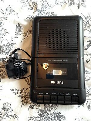 Phillips tape recorder and player