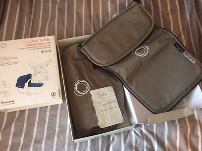 Bugaboo Buffalo Khaki Hood And Apron Set BNIB