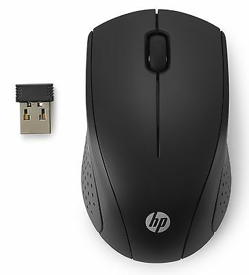 HP Wireless Mouse L0Z84UT#ABA 3 Buttons 1 Wheel Optical Black