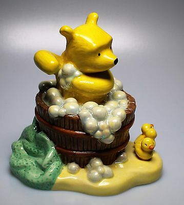 Royal Doulton Winnie the Pooh from the Bath time Collection Set of Two Superb