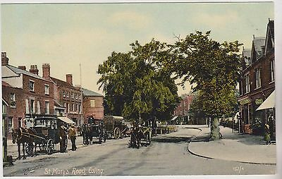 Ealing - St Mary's Road - London - Postcard