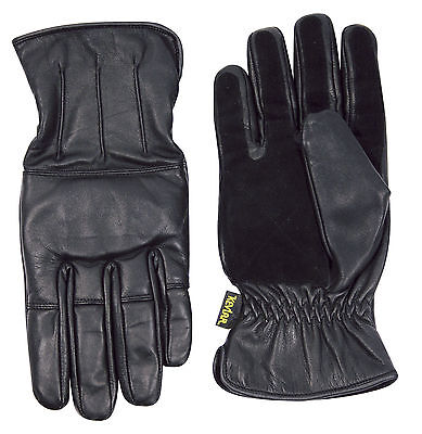 Viper Kevlar Leather Sand Padded Enforcer Gloves - Doorman Security All Sizes
