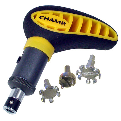 Champ Max Pro Wrench Tool - Remove and Replace spikes/cleats