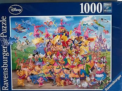 1000 Piece Jigsaw Puzzle Disney Carnival Ravensburger ! New