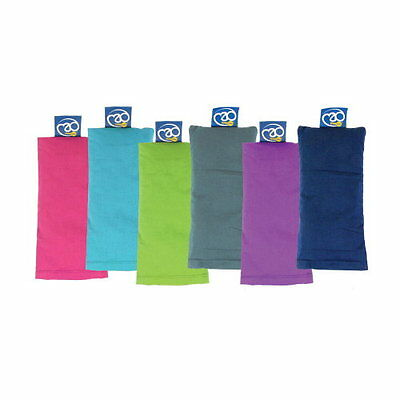 Yoga Mad Organic Eye Pillow Meditation Sleep Lavender Purple/Blue/Burgundy *BNWT