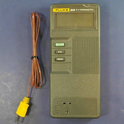 Fluke 50S K/J Thermometer, New Condition