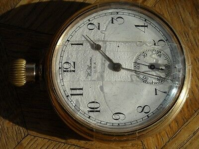 Vintage WALTHAM ROYAL POCKET WATCH for parts.