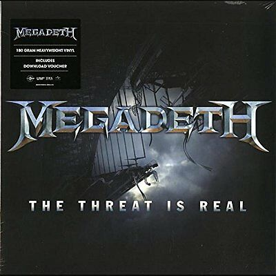"""MEGADETH The Threat is Real 12"""" Vinyl Single 2015 NEW & SEALED"""