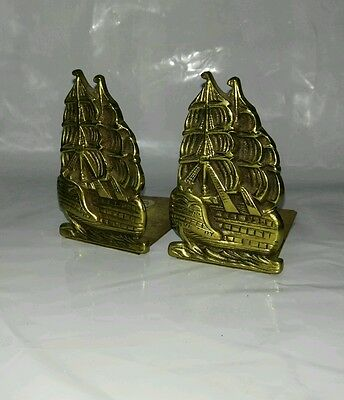 HMS Victory book ends 1950s