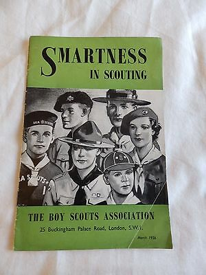 Boy Scout leaflet: SMARTNESS IN SCOUTING. March 1956.
