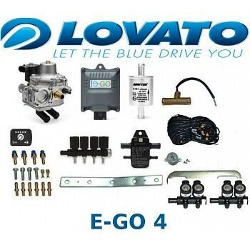 Lovato E-GO EGO kit for 4 cylinders 120 kW / 165 HP LPG  Autogas Conversion