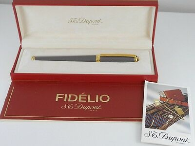 S.T. Dupont FIDELIO Rollerball Pen MINT