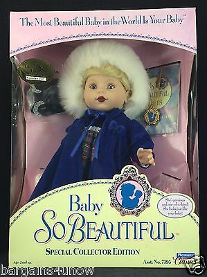 Baby So Beautiful Firsts Frosty Snow Frolic Playmates Classics  Nrfb