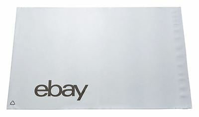eBay Branded Strong Self Seal Plastic Poly Mailing Postage Bags 251 x 345mm