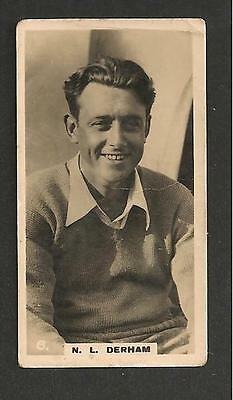 NORMAN DERHAM English Channel Swimmer English Record Holder 1926 Original