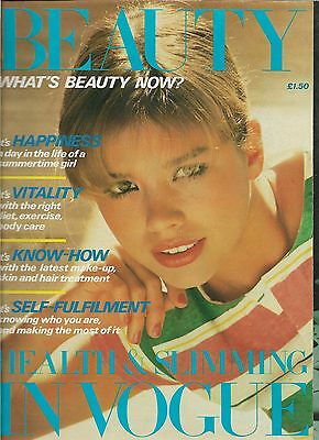 Fashion Style UK VINTAGE BEAUTY IN VOGUE Magazine SPRING/SUMMER 1980 VERY RARE