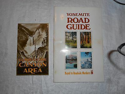 Yosemite Road Guide Booklet And Guide To The Canyon Booklet 1970's
