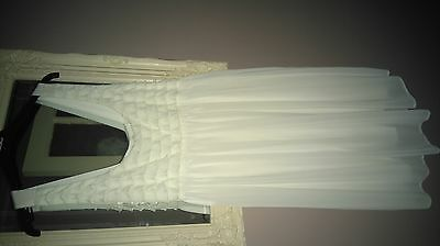 asos maternity size 12 white occasion dress