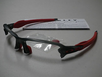 Oakley Flak 2.0 Asian Fit Smoke Grey Sunglasses Frame *authentic*