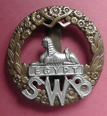 South Wales Borderers Regt. Other Ranks Cap Badge KK625
