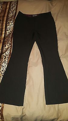 atmosphere black bootcut trousers size 14
