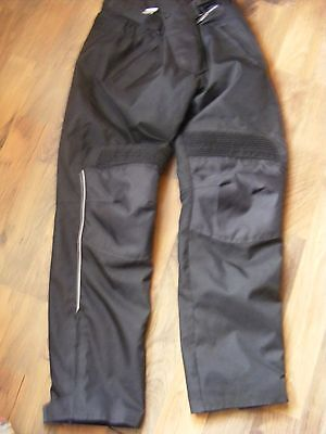 Waterproof Protective Motorcycle Trousers    34w - 32 leg