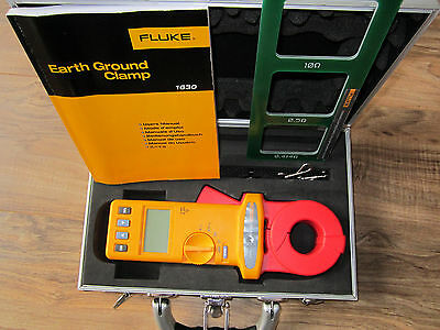Fluke 1630 Earth Ground Clamp Meter - VGC - FREE SHIPPING - resistance tester