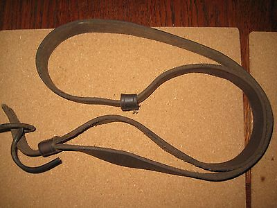 Leather Rifle sling for SMLE