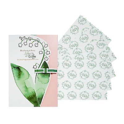 Lily Of the Valley Drawer Liners