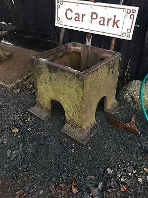 Large Heavy Blacksmiths Anvil Swage Block Cast Iron Stand