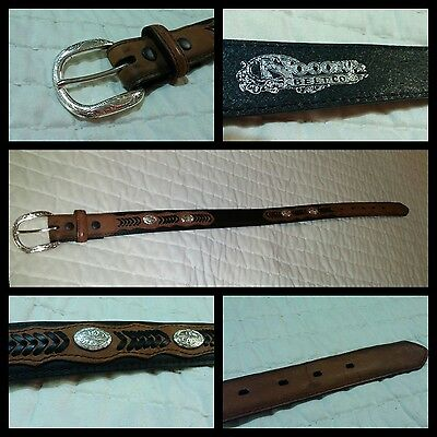 """Nocona Leather Belt, Kids' 20"""" - Prefect for Rodeo!"""