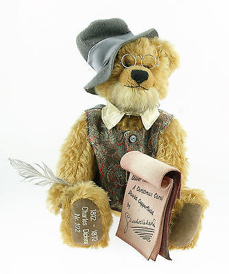 """Hermann Spielwaren """"Charles Dickens"""" Ltd. Edition bear.  From private collection"""