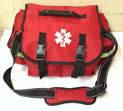Medical Emergency Paramedic Small EMT First Responder First Aid Bag W/ Dividers