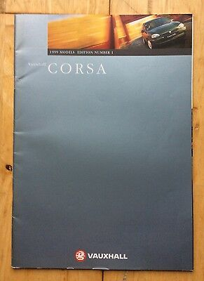 Vauxhall Corsa 1999 Models Number 1 Catalogue