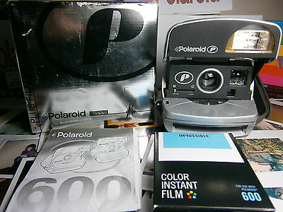 Film inclusive **GOOD Polaroid P 600 Instant Camera +READY TO SHOOT PACKAGE***