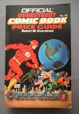 Overstreet Comic Book price guide No20 - 1990/91 - VG condition