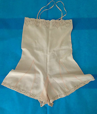 Lingerie Soie 1930 Authentique Body
